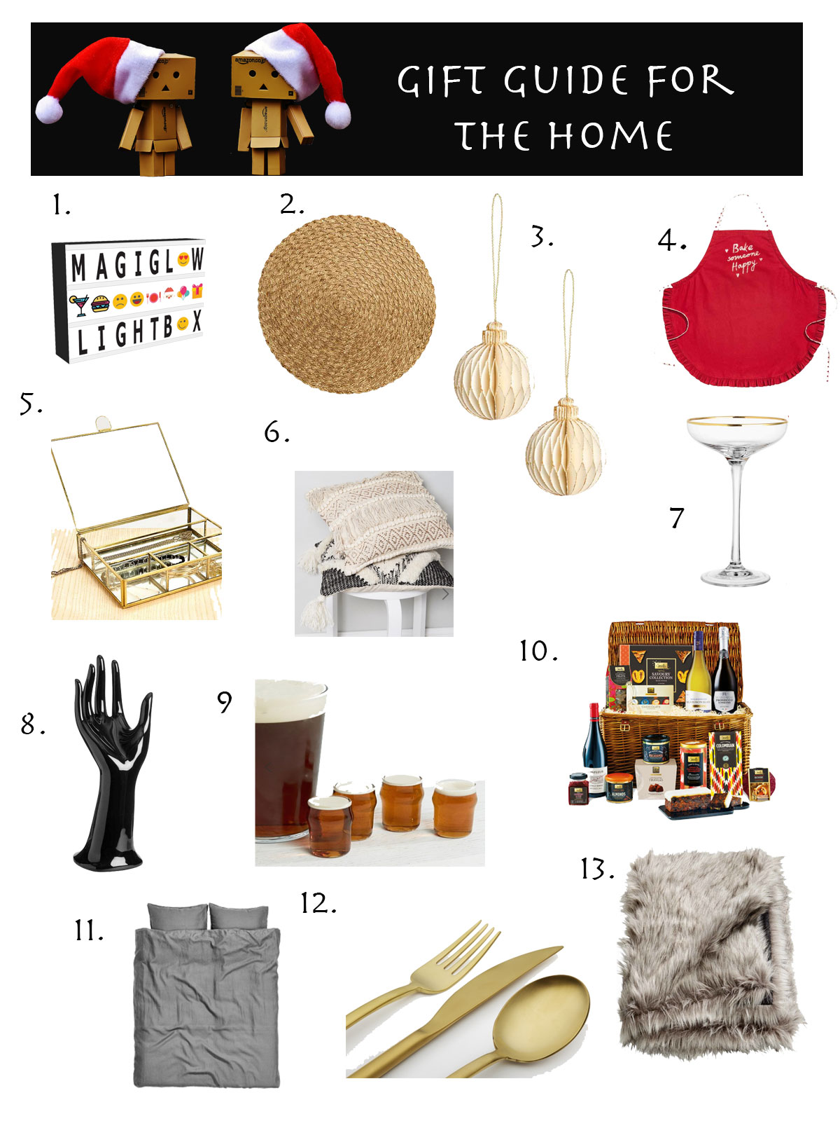 Gift Guide for the home - Holiday Gift Guide for the Home