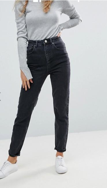 fairleigh black mom jean - My Shop