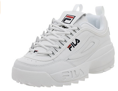 fila disruptor II trainers sneakers - 6 Spring Summer Fashion Trends to add to your wardrobe