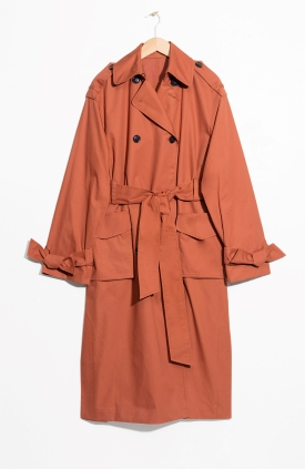 stories rust trench coat - Style Classics: The Trench Coat