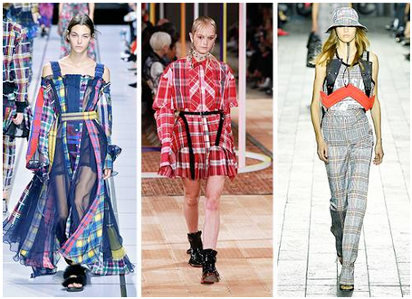 summer plaid london fashion week - 6 Spring Summer Fashion Trends to add to your wardrobe