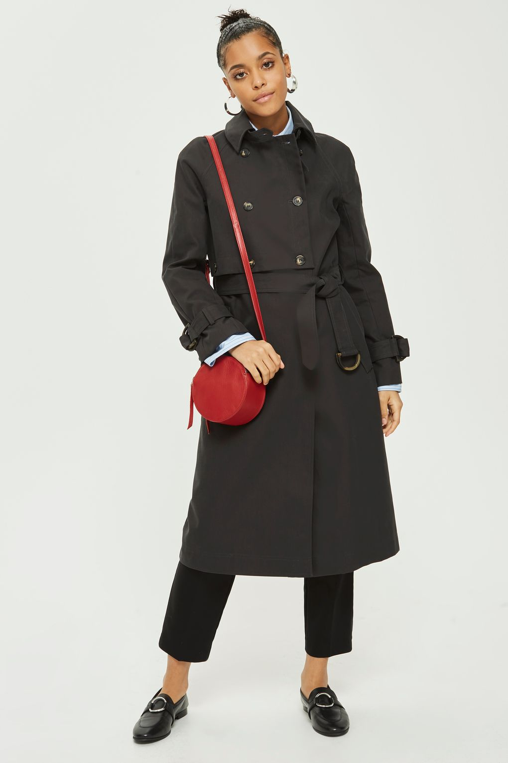 topshop trench black - Style Classics: The Trench Coat