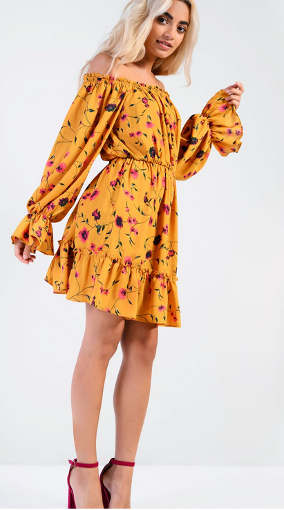 yellow floral spring summer fashion - 6 Spring Summer Fashion Trends to add to your wardrobe