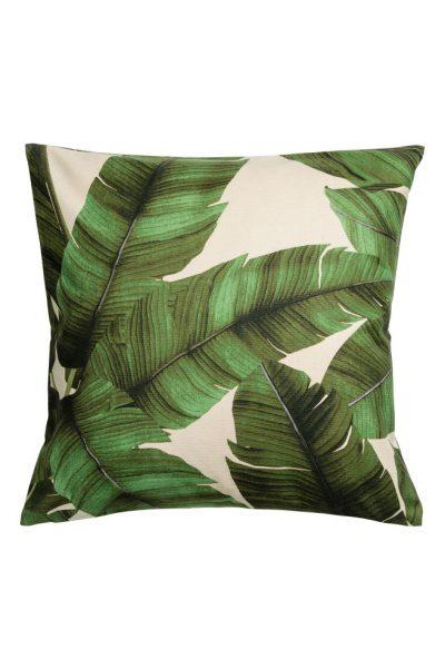 HM Print motif cushion cover 400x601 - My Shop