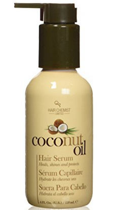 Hair Chemist Coconut Oil Serum - 5-Steps to maintain Healthy Texlaxed hair on wash day [video]