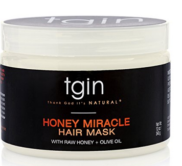TGIN Honey Miracle Hair Mask - 5-Steps to maintain Healthy Texlaxed hair on wash day [video]