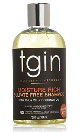 TGIN Moisture Rich Sulfate Free Shampoo - 5-Steps to maintain Healthy Texlaxed hair on wash day [video]