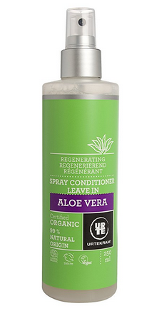 Urtekram Aloe Vera Spray Conditioner - 5-Steps to maintain Healthy Texlaxed hair on wash day [video]