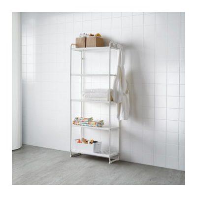 ikea mulig shelving unit white 400x400 - My Shop