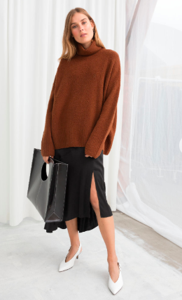 ANd Other Stories High Neck Sweater - The Fashion Edit - 12 of the best New In