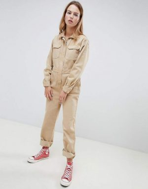 Asos Design denim boilersuit in stone 300x383 - The Fashion Edit - 12 of the best New In