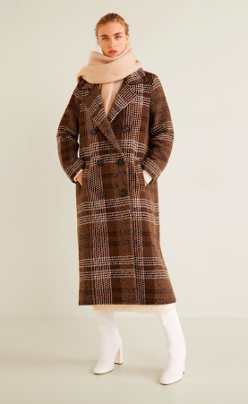 Checked coat mango - The Fashion Edit - 8 of the BEST Fall Coats