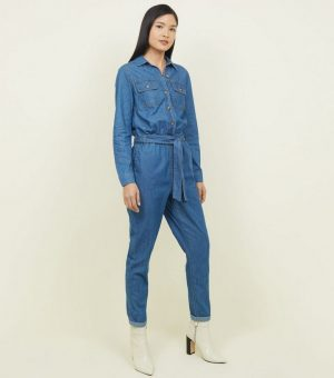 blue denim belted boiler jumpsuit 300x340 - The Fashion Edit - 12 of the best New In