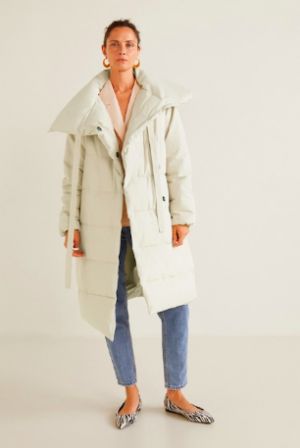 cream puffer mango 300x448 - The Fashion Edit - 8 of the BEST Fall Coats