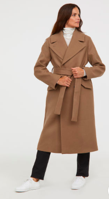 double breasted belted coat hm - The Fashion Edit - 8 of the BEST Fall Coats