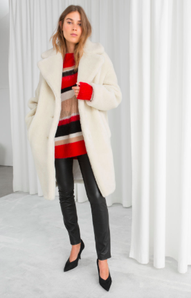 shearling coat andotherstories - The Fashion Edit - 8 of the BEST Fall Coats