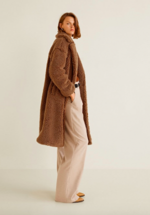 teddy coat mango 300x428 - The Fashion Edit - 8 of the BEST Fall Coats