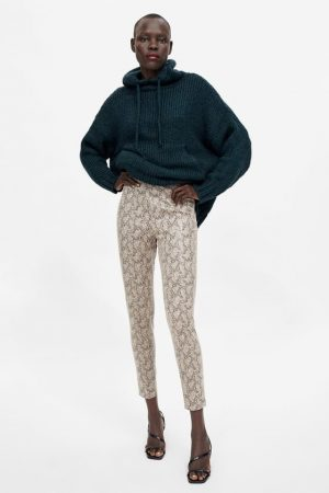 zara SNAKESKIN PRINT LEGGINGS 300x450 - The Fashion Edit - 12 of the best New In