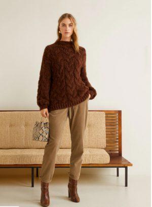 mango Cotton corduroy trousers 300x410 - My Shop