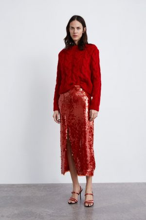 zara SEQUINNED SKIRT 300x450 - The Fashion Edit - 12 of the best New In