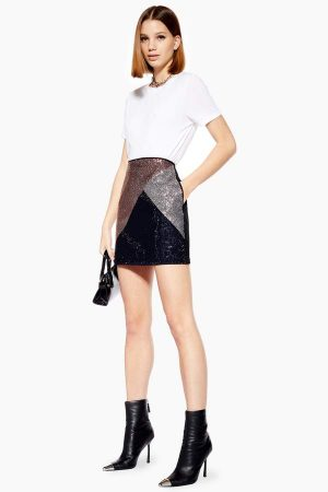 Crystal A Line Denim Skirt 300x450 - The Fashion Edit - 12 of the Weekly Best
