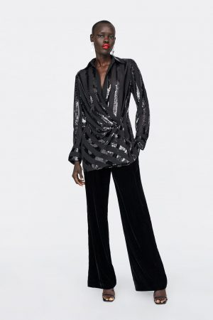 DRAPED SEQUIN BLOUSE 300x450 - The Fashion Edit - 12 of the Weekly Best