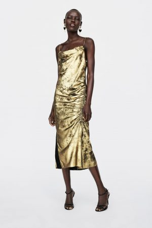 METALLIC EFFECT CAMISOLE DRESS 300x450 - The Fashion Edit - 12 of the Weekly Best