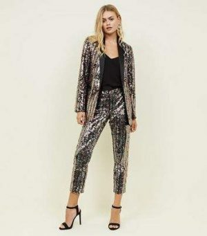 Rainbow Sequin Slim Leg Trousers 300x341 - The Fashion Edit - 12 of the Weekly Best