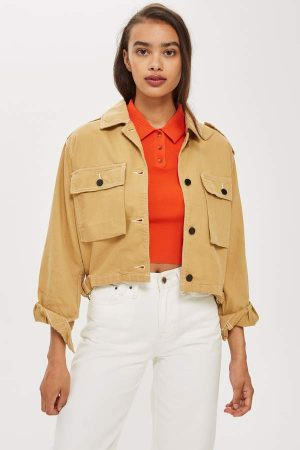 Topstitch Camel Shacket 300x450 - The Fashion Edit - 12 of the Weekly Best